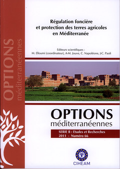 Couverture de l'ouvrage Régulation foncière et protection des terres agricoles en Méditerranée