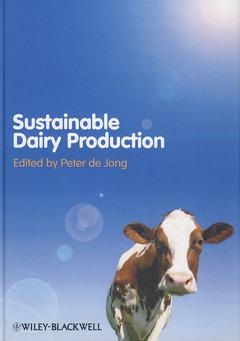 Couverture de l'ouvrage Sustainable dairy production