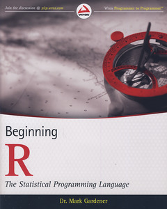Couverture de l'ouvrage Beginning R: The statistical programming language