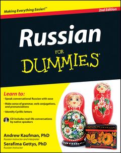 Couverture de l'ouvrage Russian for dummies® (paperback)