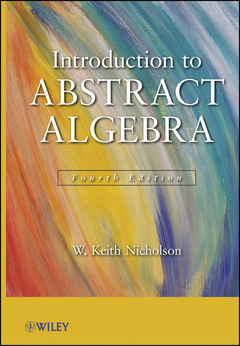 Couverture de l'ouvrage Introduction to abstract algebra