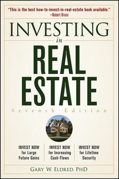 Cover of the book Investing in real estate (paperback)