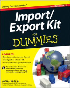 Cover of the book Import/export for dummies&reg, (paperback)