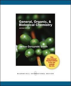 Couverture de l'ouvrage General, organic & biological chemistry