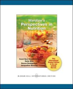 Couverture de l'ouvrage Wardlaw's perspectives in nutrition