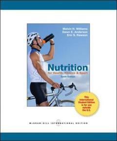 Couverture de l'ouvrage Nutrition for health, fitness & sport