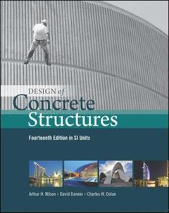 Couverture de l'ouvrage Design of concrete structures - si version