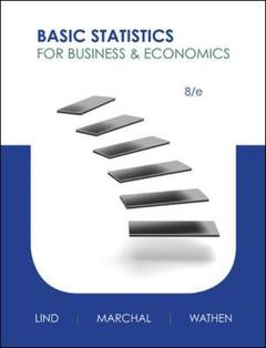 Cover of the book Basic statistics for business and economics