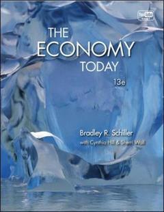 Couverture de l'ouvrage The economy today