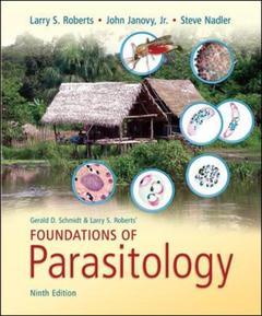 Couverture de l'ouvrage Foundations of parasitology