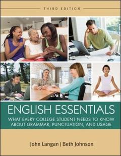 Couverture de l'ouvrage English essentials