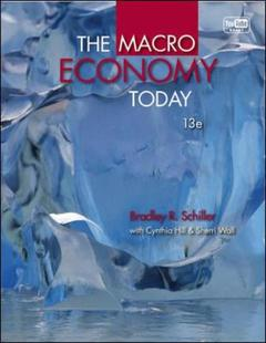 Couverture de l'ouvrage The macro economy today