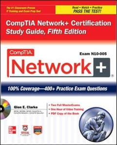 Cover of the book Comptia network+ certification study guide (exam n10-005) with CD-EOM
