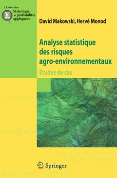 Couverture de l'ouvrage Analyse statistique des risques agro-environnementaux.