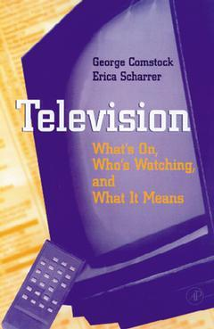 Cover of the book Television