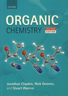Couverture de l'ouvrage Organic chemistry