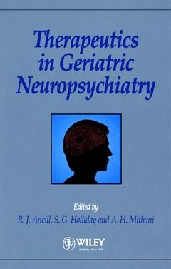 Couverture de l'ouvrage Therapeutics in geriatric neuropsychaitric cloth
