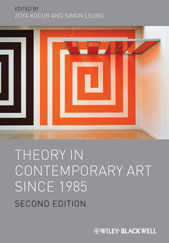 Cover of the book Theory in contemporary art since 1985 (paperback)