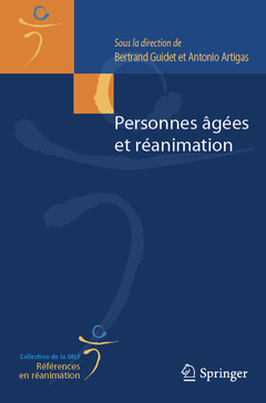 Couverture de l'ouvrage Personnes âgées et réanimation