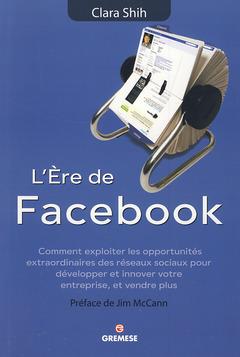 Couverture de l'ouvrage L'ère de Facebook :