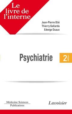 Couverture de l'ouvrage Psychiatrie