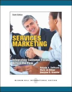 Cover of the book Services marketing