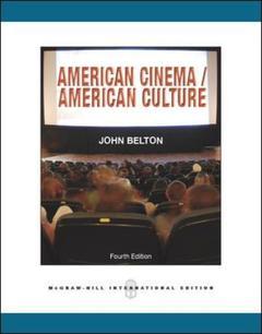 Couverture de l'ouvrage American cinema / american culture
