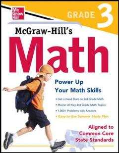 Cover of the book Mcgraw-hill math grade 3