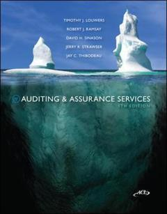 Couverture de l'ouvrage Mp auditing & assurance service w/ acl cd