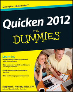 Couverture de l'ouvrage Quicken x for dummies® (paperback)