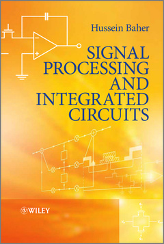 Cover of the book Signal processing and integrated circuits
