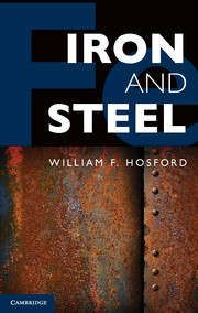 Cover of the book Iron and steel