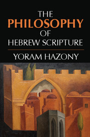 Cover of the book The philosophy of hebrew scripture: an introduction