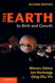 Couverture de l'ouvrage The earth: its birth and growth (2nd ed )