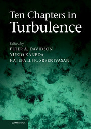 Couverture de l'ouvrage The nature of turbulence