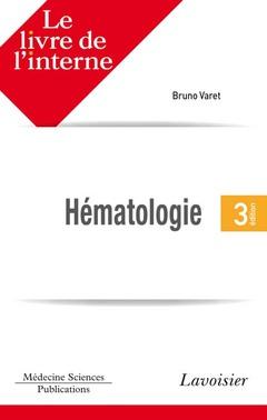 Couverture de l'ouvrage Hématologie