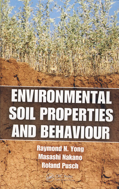 Couverture de l'ouvrage Environmental soil properties and behaviour