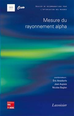 Couverture de l'ouvrage Mesure du rayonnement alpha