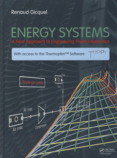 Couverture de l'ouvrage Energy systems: A new approach to engineering thermodynamics
