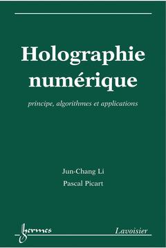 Couverture de l'ouvrage Holographie numérique