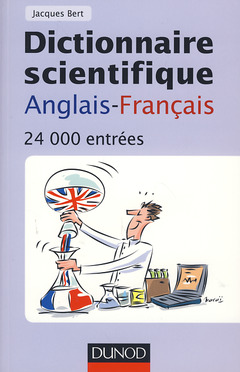Cover of the book Dictionnaire scientifique anglaisfrançais (24 000 entrées)