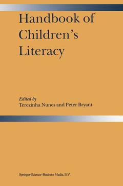 Cover of the book Handbook of children's literacy