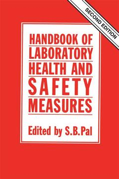 Couverture de l'ouvrage Handbook of laboratory health and safety measures