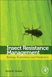 Couverture de l'ouvrage Insect Resistance Management