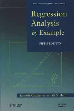 Cover of the book Regression analysis by example