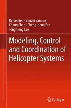 Couverture de l'ouvrage Modeling, control and coordination of helicopter systems