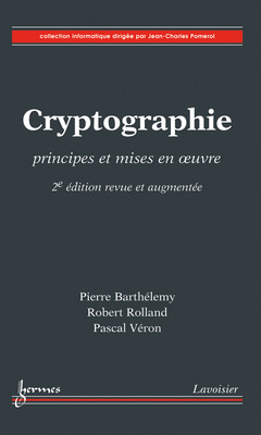 Cover of the book Cryptographie - 2e édition