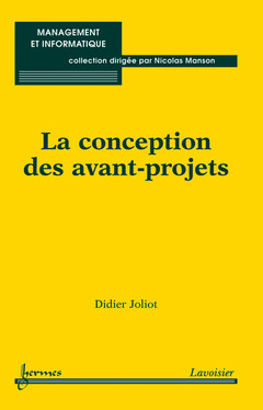 Cover of the book La conception des avant-projets