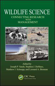 Couverture de l'ouvrage Wildlife science