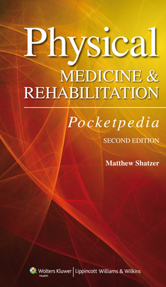 Couverture de l'ouvrage Physical Medicine and Rehabilitation Pocketpedia